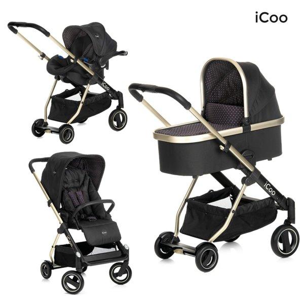 Бебешка количка iCoo Acrobat XL Plus 3 в 1
